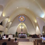Photo taken at St. Stephen Martyr Catholic Church by Lucia K. on 4/19/2015