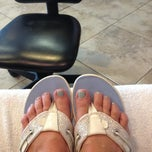 Photo taken at Bella Capelli Sanctuario Aveda Lifestyle Salon and Spa by Alyce M. on 7/10/2013