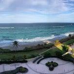 Photo taken at Jupiter Beach Resort & Spa by Michael P. on 4/4/2014