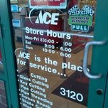 Photo taken at Ace Hardware by MB Noble on 3/21/2013