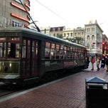 Photo taken at St. Charles Avenue Streetcar by Joe S. on 3/4/2013