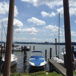 Photo taken at Belle Haven Marina by Brendan F. on 6/23/2014