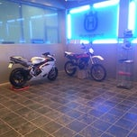 Photo taken at MV Agusta ShowRoom by Abdullah A. on 10/17/2012