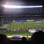 Photo taken at San Diego County Credit Union Poinsettia Bowl by Tyler M. on 12/27/2013