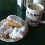 Photo taken at Café Du Monde by Shay J. on 3/21/2013