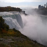 Photo taken at Niagara Falls (American Side) by Linda H. on 10/17/2012