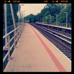 Photo taken at MTA SIR - Pleasant Plains Station by Rob O. on 6/17/2013