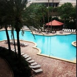 Photo taken at Rosen Centre Hotel by Lurdinha S. on 10/21/2013