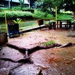 Photo taken at Gazebo Jurusan Teknologi Pertanian Universitas Hasanuddin by Patrick Wulaa Petrus on 7/12/2013