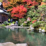 Photo taken at 釈迦山 百済寺 by Izumi T. on 11/18/2012
