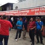 Photo taken at Keropok Lekor Pak Su by Azizan M. on 5/16/2014