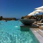 Photo taken at The Westin Resort, Costa Navarino by Popi🍭 on 6/25/2013