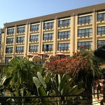 Photo taken at Kigali Serena Hotel by Faustin L. on 7/7/2013