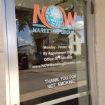 Photo taken at Now Marketing Group by Mike G. on 10/14/2013