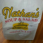 Photo taken at Nathan's Soup & Salad by Alannah J. on 9/26/2012