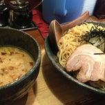 Photo taken at 麺処 田ぶし by Katsunari on 4/24/2013