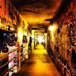 Photo taken at Krog Street Tunnel by Mark B. on 1/26/2013
