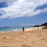 Photo taken at Makena Beach by Eric K. on 5/1/2013