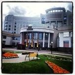 Photo taken at Шуваловский корпус МГУ by Аня К. on 10/11/2012