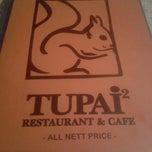 Photo taken at Tupai-Tupai Restaurant & Cafe by Mohd B. on 12/29/2012