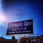 Photo taken at Olympic Spa by Teri on 1/22/2013