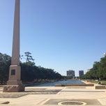Photo taken at Hermann Park by Nina B. on 5/4/2013