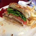 Photo taken at Twigs Restaurant & Cafe by Jen W. on 12/16/2012