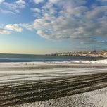 Photo taken at First Beach by Scott P. on 2/14/2013