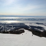 Photo taken at Mont-Sainte-Anne by Robert L. on 2/19/2013