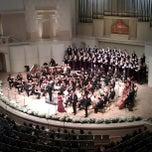 Photo taken at Концертный зал им. П. И. Чайковского / Tchaikovsky Concert Hall by Evgeny Z. on 9/29/2012