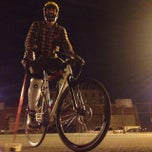 Photo taken at NYC Bike Polo - Baltic Court by Deco on 4/2/2014