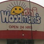 Photo taken at Woodman's Food Market by Jen on 4/21/2013