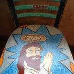 Photo taken at Crustys Pizza by Brett W. on 4/12/2013