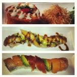 Photo taken at RAW Sushi & Sake Lounge by Thu N. on 10/25/2012