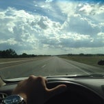 Photo taken at Kansas Turnpike / Interstate 335 by David N. on 9/19/2013