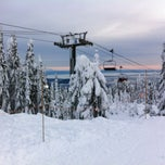Photo taken at Grouse Mountain by Kate M. on 1/2/2013