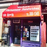 Photo taken at Nicky's Vietnamese Sandwiches by Dean V. on 9/17/2012
