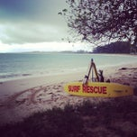 Photo taken at หาดในยาง (Nai Yang Beach) by Tina S. on 7/13/2013