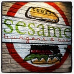 Photo taken at Sesame Burgers & Beer by Frank A. on 2/8/2013