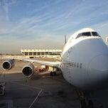 Photo taken at Lufthansa Flight LH 418 by Mattia P. on 12/2/2012