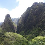 Photo taken at ʻĪao Valley State Park by Debbie I. on 4/28/2013