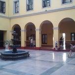 Photo taken at Delegación Miguel Hidalgo by Viri B. on 4/10/2013