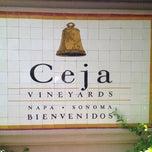 Photo taken at Ceja Vineyards by Nando G. on 4/21/2013
