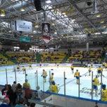 Photo taken at Eissporthalle Frankfurt by ak_74 on 4/21/2013