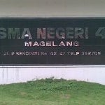 Photo taken at SMA Negeri 4 Magelang by Subhan E. on 11/16/2012