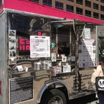Photo taken at Coolhaus Truck by Darin on 2/26/2013