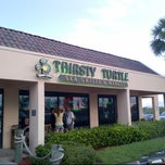 Photo taken at Thirsty Turtle Seagrill by Erik D. on 7/6/2013