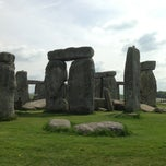 Photo taken at Stonehenge by Fatih ö. on 5/18/2013