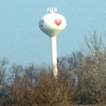 Photo taken at Heart water tower by I-80 Queen 👑💄 on 11/20/2012
