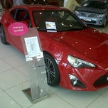 Photo taken at TOYAN Toyota Plaza by CHARACTER AUTO  60TL'ye Havalimanı T. on 10/13/2012